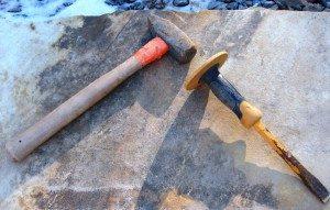 3 hammer & chisel