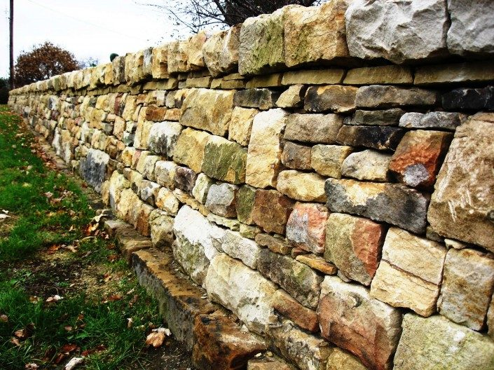 dry stone walling courses