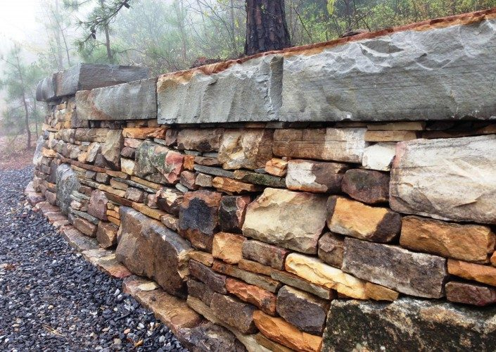 stone wall building techniques
