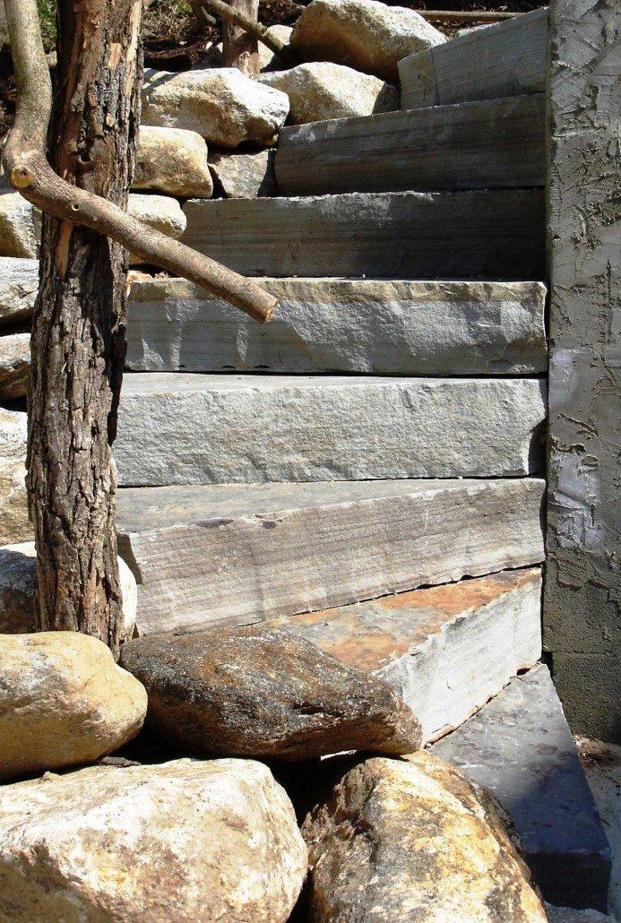 Sandstone Spiral Steps, North Carolina 2008