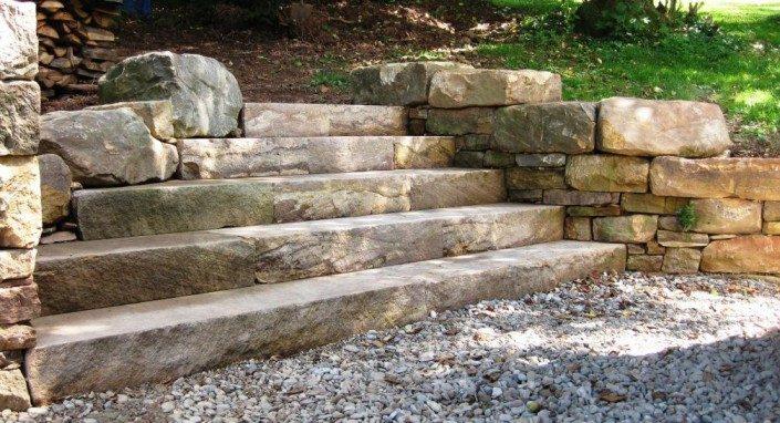 Sandstone Steps, Pennsylvania 2009