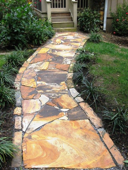 rock walkways