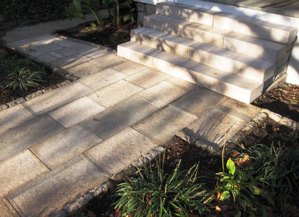 limestone walkways