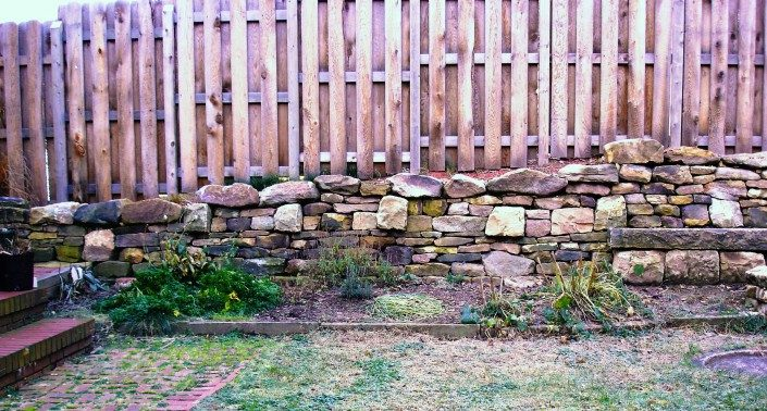 building dry stone walls