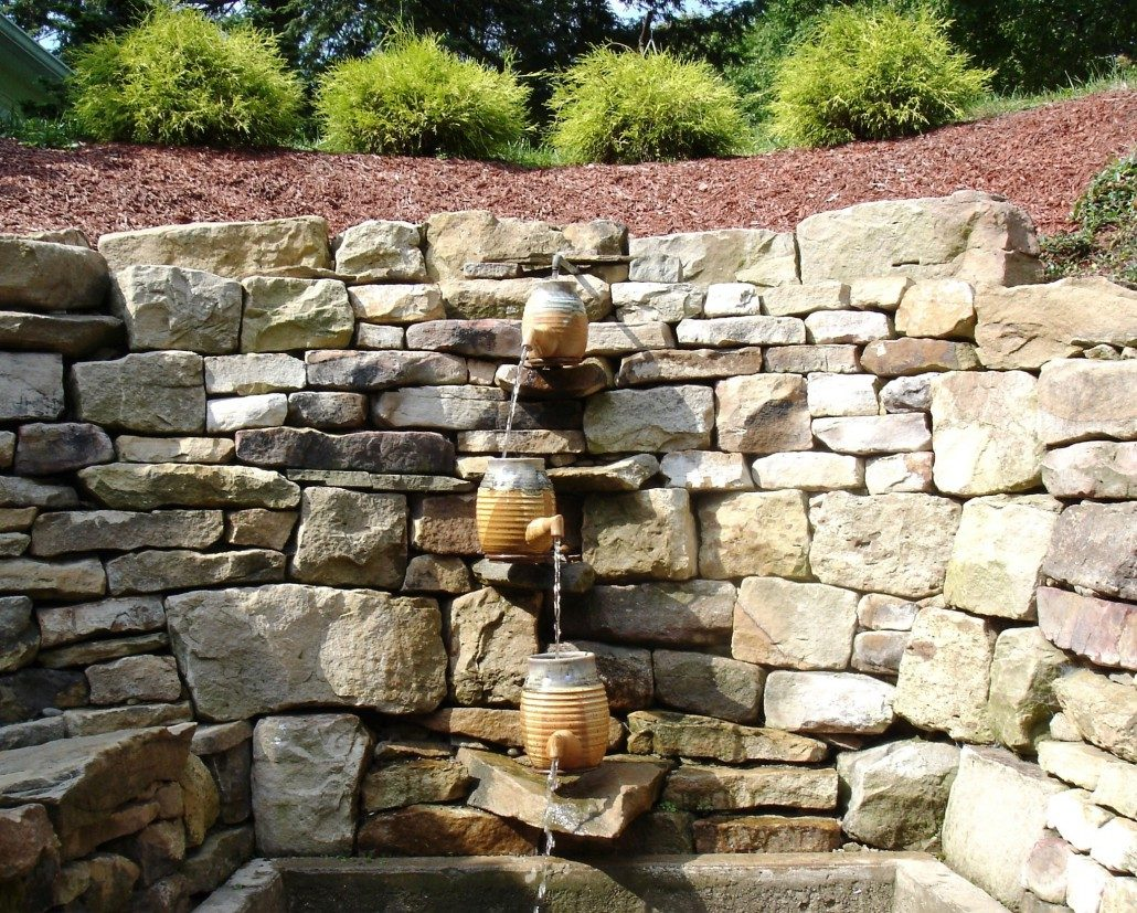 restoring a water feature