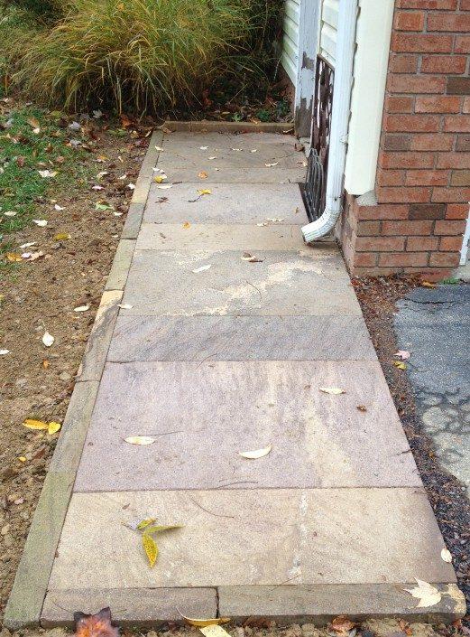 sandstone walkways