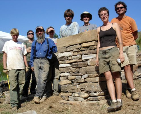 Dry stone walling courses & workshops in Weaverville, NC