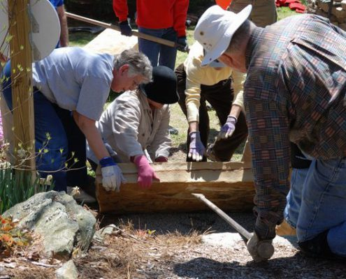 Dry stone walling courses & workshops in Hendersonville,, NC