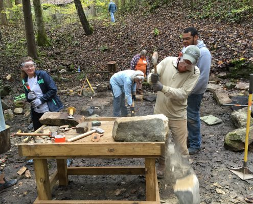 Dry stone walling courses & workshops in Pine Mountain, Kentucky