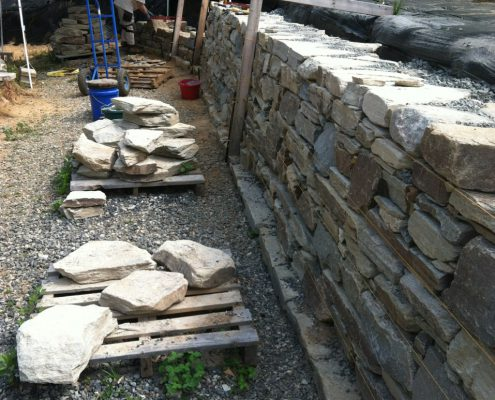 Dry stone walling courses & workshops in Burnsville, NC