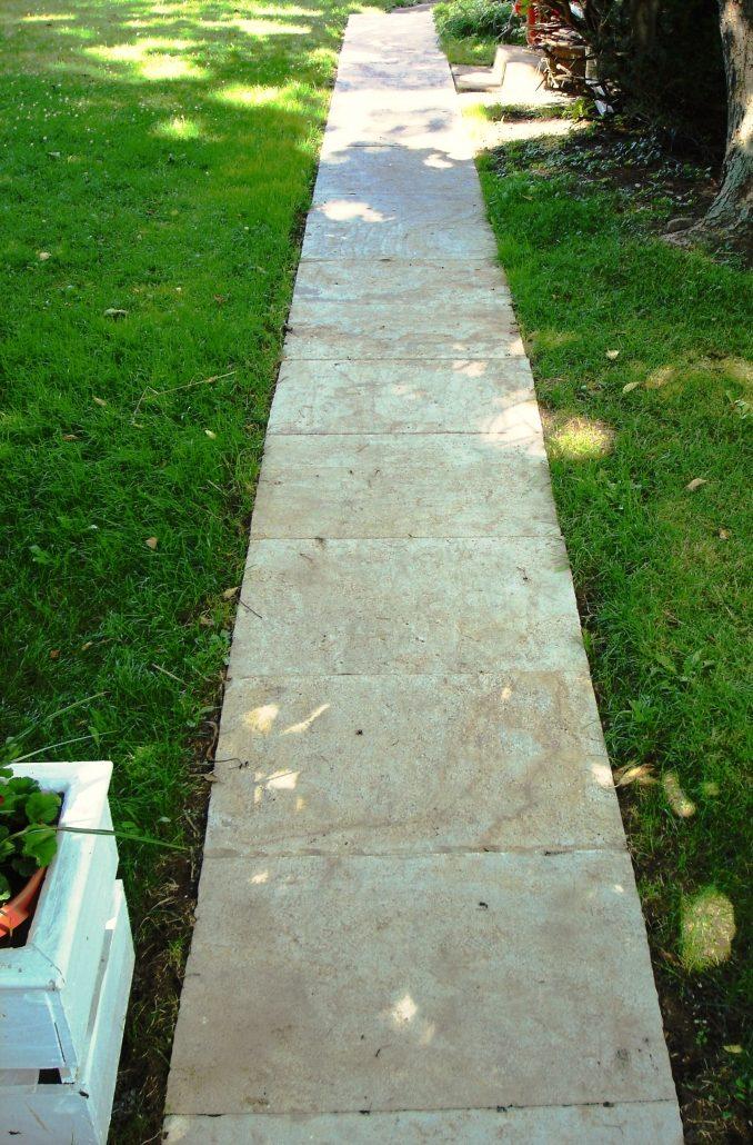 Sandstone Walkway, Pennsylvania, 2007