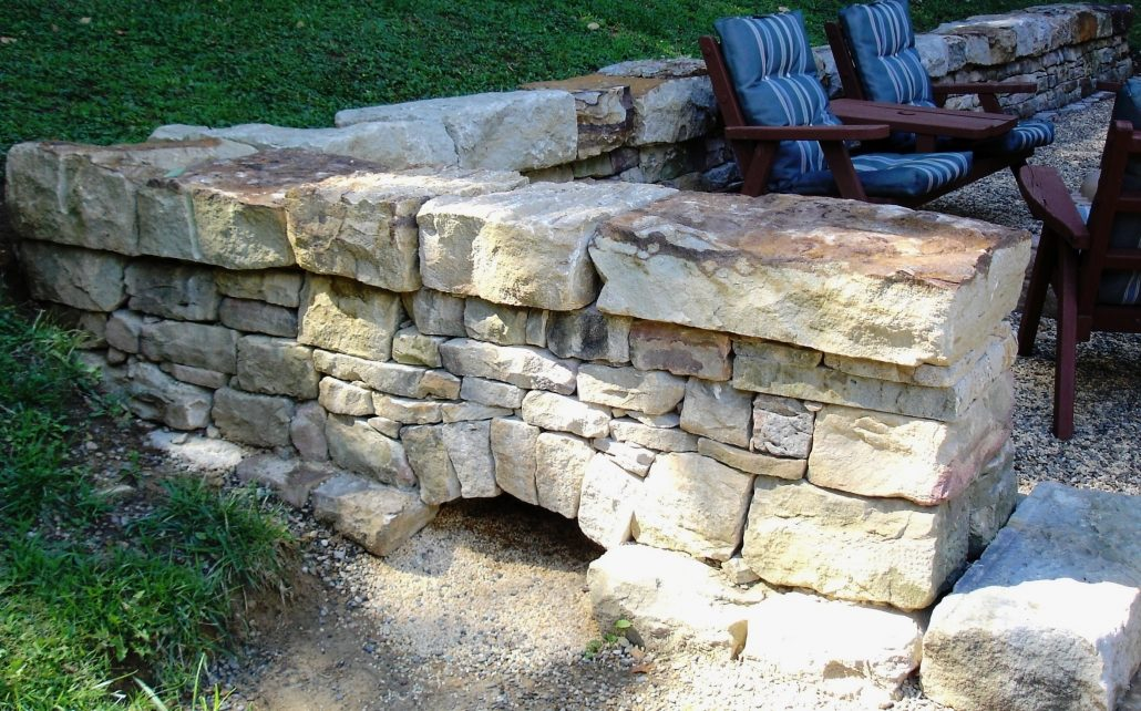 Sandstone Fence with Arch, Pennsylvania 2006
