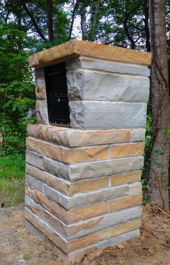 Sandstone Mailbox, North Carolina 2016