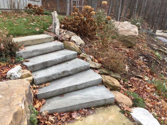 Sandstone Steps, North Carolina 2016