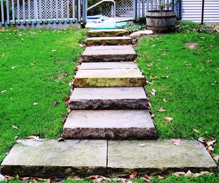 Sandstone Steps with Landing, Pennsylvania 2004