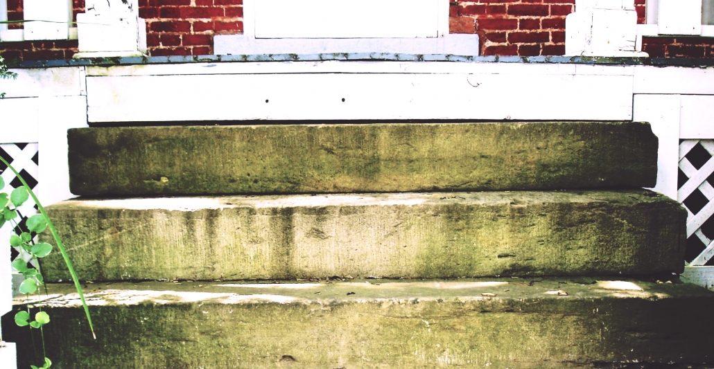 Sandstone Steps, Pennsylvania, 2007